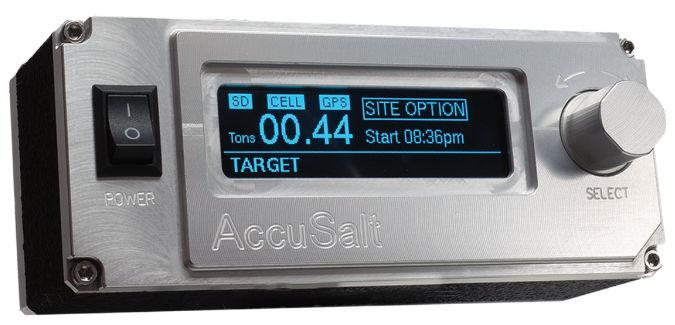 Bulk Salt Application Monitor